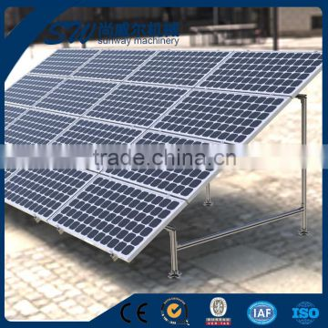 Best Price Galvanized C Channel Section Steel Pipe Used For Solar Panel  Mounting Brackets