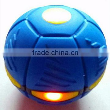 Children's outdoor throw Led light magic UFO flying ball toy                                                                         Quality Choice