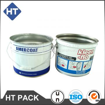 2 Gallon Chemical Can Paint Bucket Ink Pail Of Round Can From