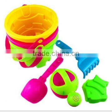 summer plastic sand beach set , outdoor game beach toy sand boat toys, plastic mini toy shovels