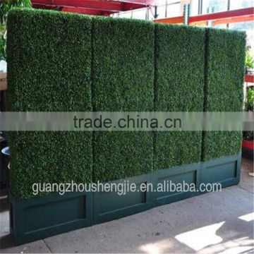 SJ003201702 China artificial boxwood hedges for outdoor UV plastic boxwood hedges