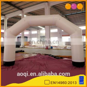 commercial best quality inflatable white arch for sale