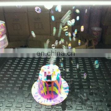 2014 New product Hat Bubble Machine Bubble Hat
