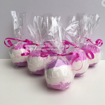 individual package handmade fizzy bath bombs natural