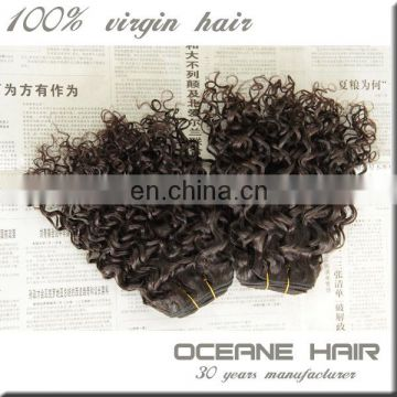 Most popular factory price high quality soprano remy hair extensions