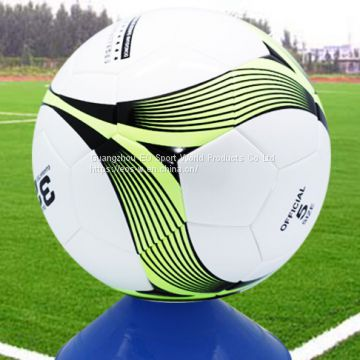 Custom Design Football Foot ball Soccer Ball for Match Seamless