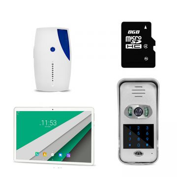Wi-Fi Enabled video door phone wifi ip camera