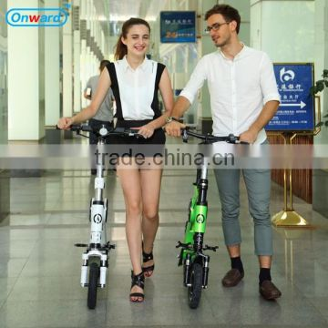 Onward snow bike snow scooter foot bike scooter light weight electric chariot