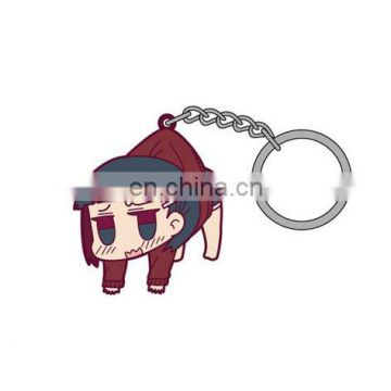 cute cartoon character keychain made in China