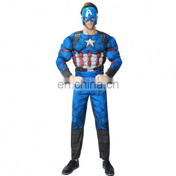 Factory Directly Sale Movie&TV Role Play America Halloween Costumes Men