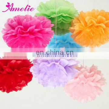 A02PL Cheap Tissue Paper Flower for Decoration