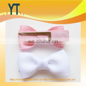 YT Factory Wholesale Mini hair bow/barrette/hair pin For Girl