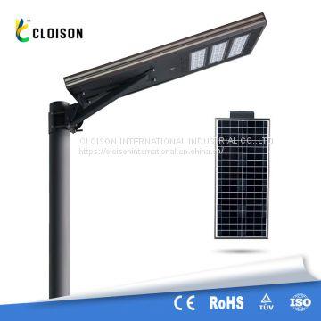 Outdoor IP65 waterproof 60w solar outdoor led lamps pole solar light solar  project integrated solar street lights
