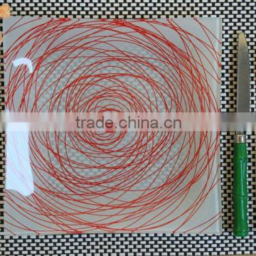 Printed Toughened Glass Plate