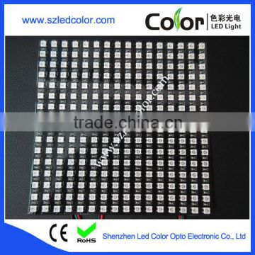 flexible ws2812b led matrix panel display