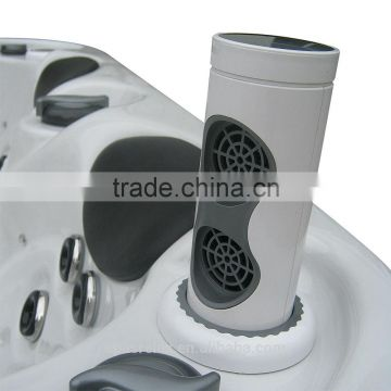 Hot sell Cheap Outdoor Acrylic Shell Spa With Gazebo for 3 people