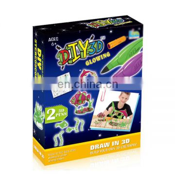 Fine workmanship children play game printer 3d pen toy for sale