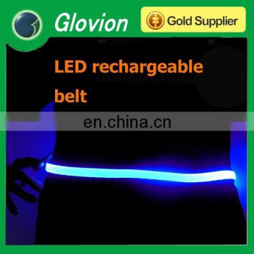 Glovion glowing belt for night walking USB rechargeable flashing belt flashing belt for decoration