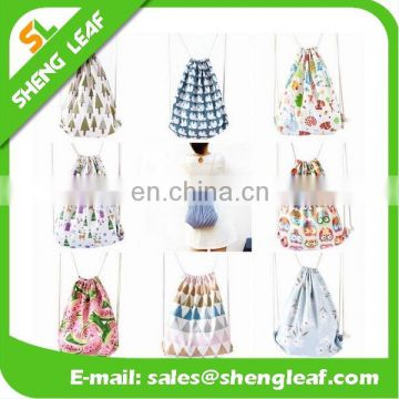 Cheap promotional drawstring bag custom