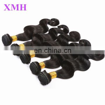 Real unprocessed remy human hair weaving cheap wholesale free weave hair packs, virgin wavy malaysian hair extension