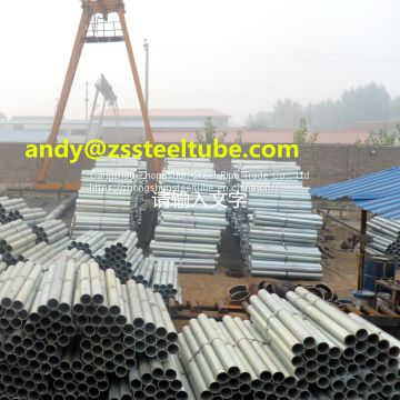 3 inch x 2- 2.5 mm Hot-dip Galvanized Steel Pipe/Tube for Fluid, Construction, Structure, Build