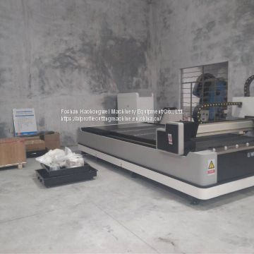 China golden supplier fiber laser cutting machine for iron plate
