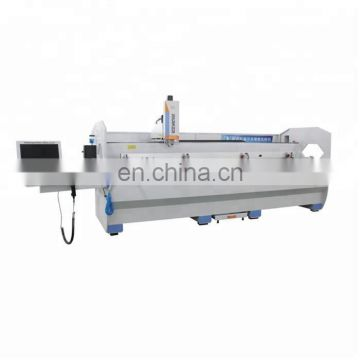 Aluminum profile 3 axis drilling milling machine