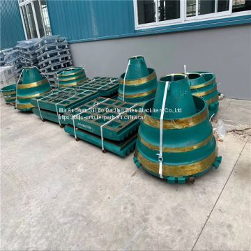 Precision Concave Cone Crusher Parts Wear Resistant Parts Metso GP300 concave