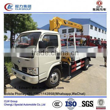good sale truck mounted crane/ 10 ton knuckle boom truck mounted crane