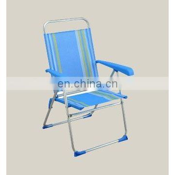 New 7-position portable beach chair