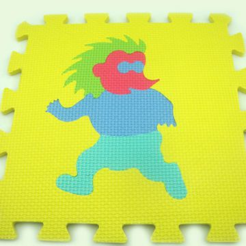 Oem Eva Foam Puzzle Mat Anti-slip Polyester+cotton