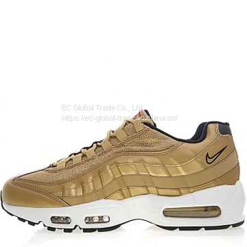 Nike Air Max 95 Metallic Gold, Wholesale Men's Sneakers & Athletic Shoes for Sale