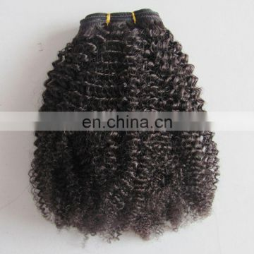 Wholesale Kinky Straight Human Hair Extension 100% Human Hair
