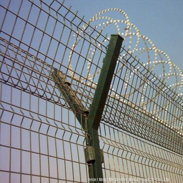 Fencing Systems For Energy Security Nut Airport Fence Prison Barbed