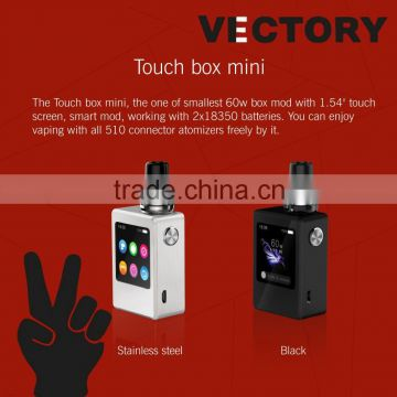 2016 Unique Mod Wholesale Smy Touch Box 100w The Newest Touch Screen Vape Mod