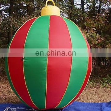 Lighted Giant Christmas Ornament Airblown Inflatable Blow Up Nice