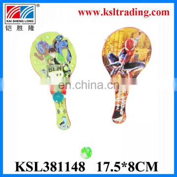 hot sale beautiful racket cheap small plastic toys