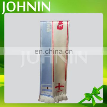 hot selling wholesale customized polyester satin fans scarf