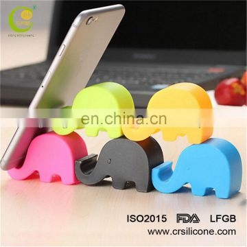 animal silicone stand/silicone elephant holder/rubber animal holder