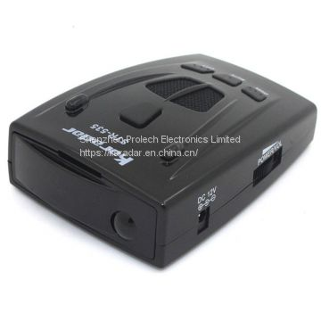 Karadar STR535 radar detector with X,K,KA, Laser band and Russian voice alerts