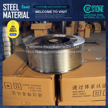 Manufacturer 99 995% Min 2.5 1.6 1.2mm metalizing pure zinc wire for thermal spray