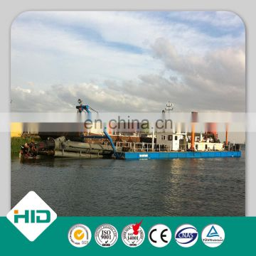 8 Inch Small River 378KW Portable Cutter Suction Dredger For Sale