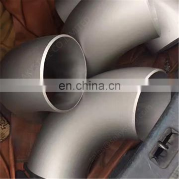 304 316l stainless steel 90 elbow