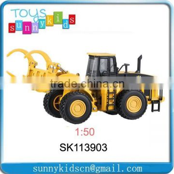Modern die cast miniature car model toy Forklift truck