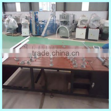 PVC door and window bending machine