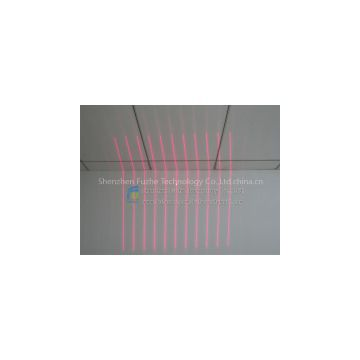 FU65011PXX100-GD16 Diffractive optical elements(DOE) 11 multi parallel lines laser pattern with
