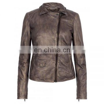 Sheep Genuine Leather Winter Jacket
