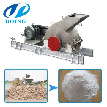 Ghana cassava starch production process machines