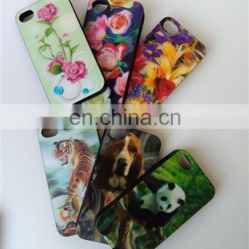 Hot selling fashion colorful printed plastic 3d phone cases