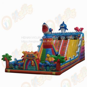New princess inflatable bouncer/above playground games house hot sale